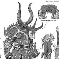 Total War Warhammer Dwarf Slayer Concept art.