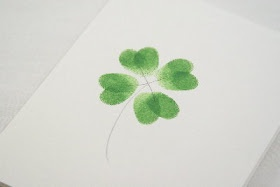 Four leaf clover thumbprints, my children's thumbprints, tattoo