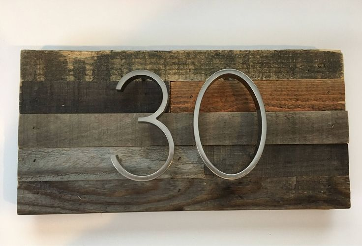 Rustic Address Plaque made from Reclaimed Wood - rustic custom, personalized, house numbers, address sign, cabin, cottage, housewarming gift by MadeWithBeerInHand on Etsy https://www.etsy.com/listing/560739670/rustic-address-plaque-made-from