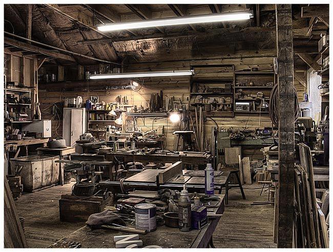 Model Twocar Garage Woodshop  This 2car Garage Was Designed