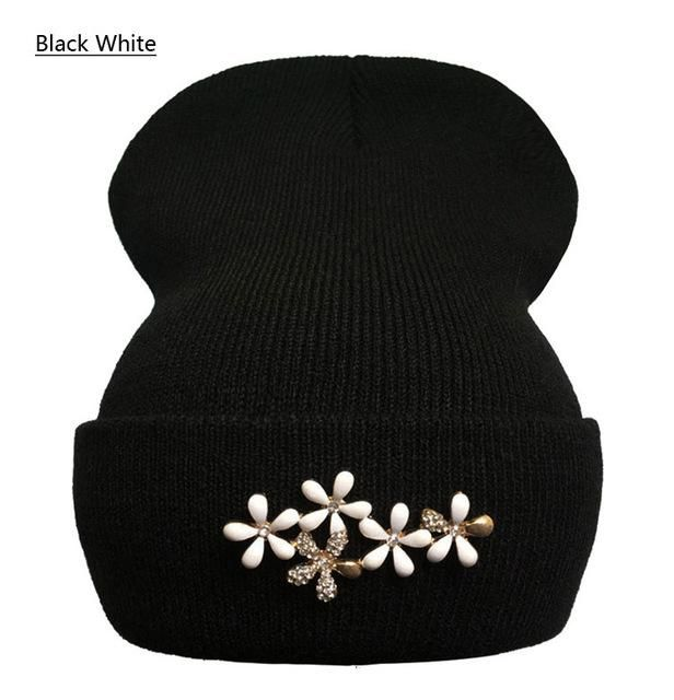 551eb55f278 RALFERTY Knitted Flower Beanie - Women s