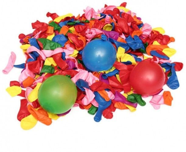 500Pcs Colourful Water Bombs Ballon Party Bags Toys For Kids Birthday Pool Games #Unbranded