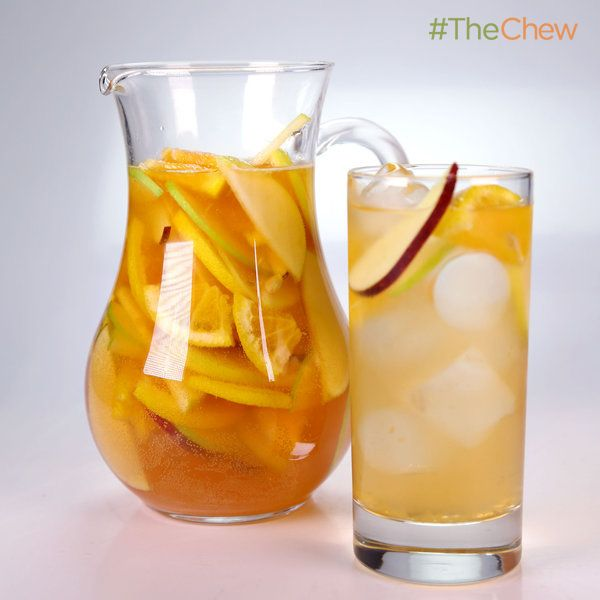Clinton Kelly's Cider #Sangria #TheChew