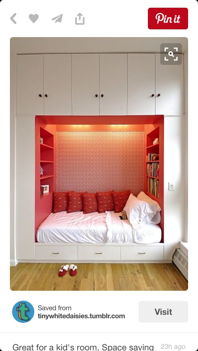 Cool space saver for girls and boys!!