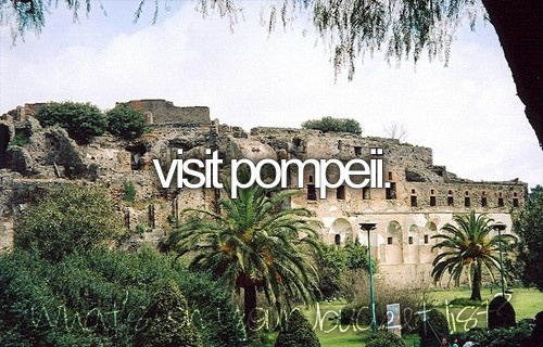 bucket list for sure