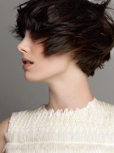color blocked haircolor hair
