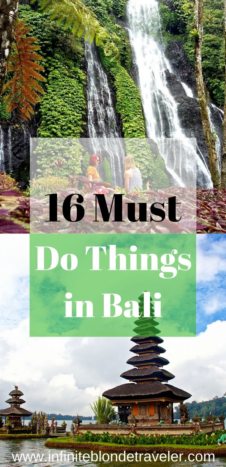 With so much to do and see in Bali one sometimes doesn't know where to start. Let this guide help you narrow your long list.