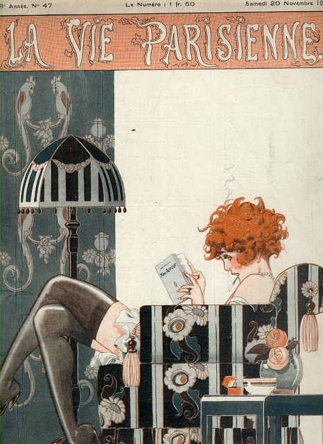 (La Vie Parisienne) This one we have in a framed version in our living room