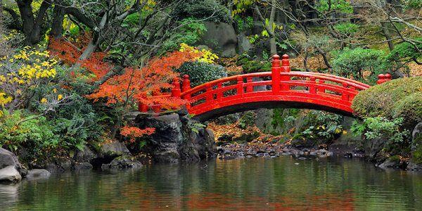 giardino giapponese ponticello