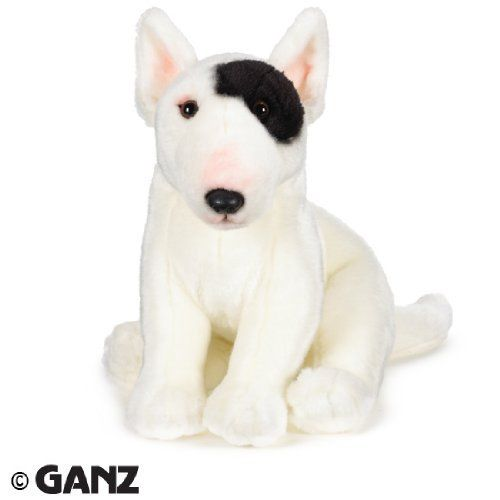 Webkinz Signature Bull Terrier with Trading Cards by Ganz,