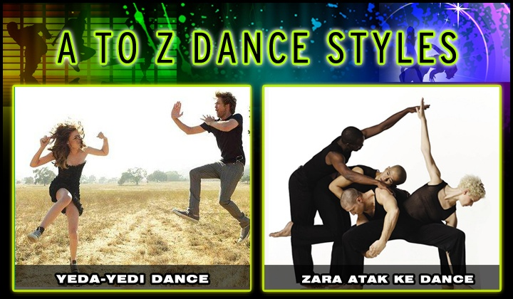 We've finally reached the last set of our set of dance styles. From A to Z, tell us which one you liked the most!