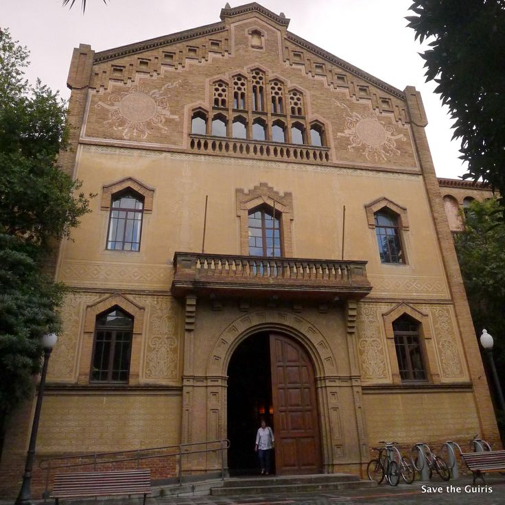 Escola Industrial de Barcelona - Barcelona Secrets - Save the guiris