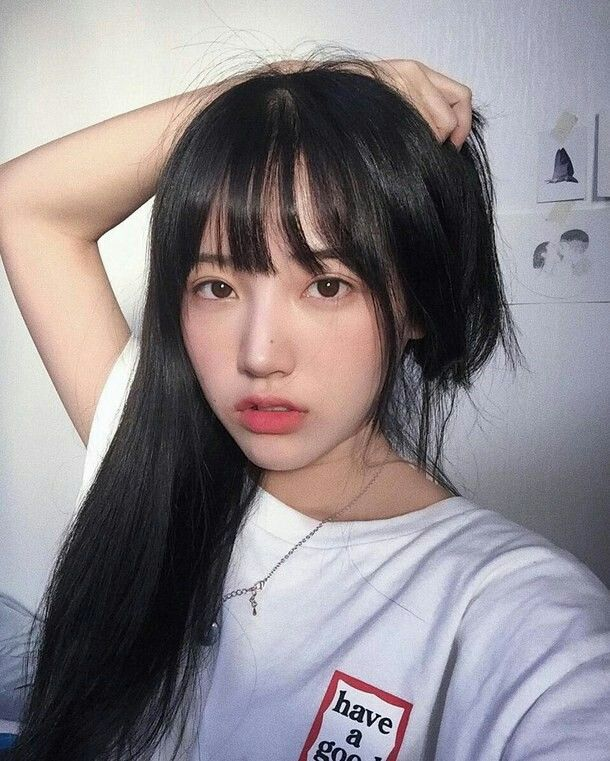 Korean girl icons tumblr ulzzang franja - Korean girl picture ...