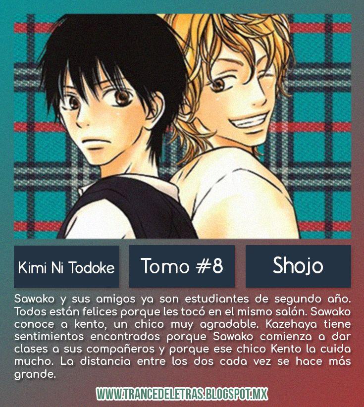 Kimi Ni Todoke Tomo #8 de Karuho Shiina
