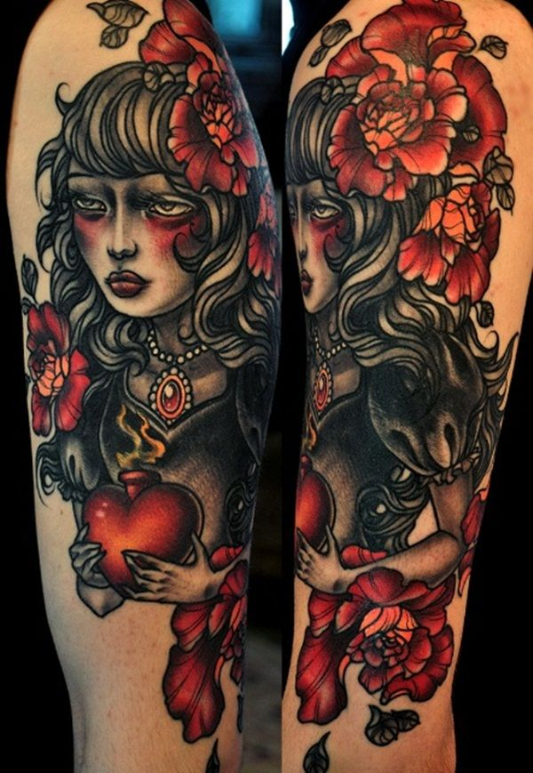 60 Most Amazing Half Sleeve Tattoo Designs