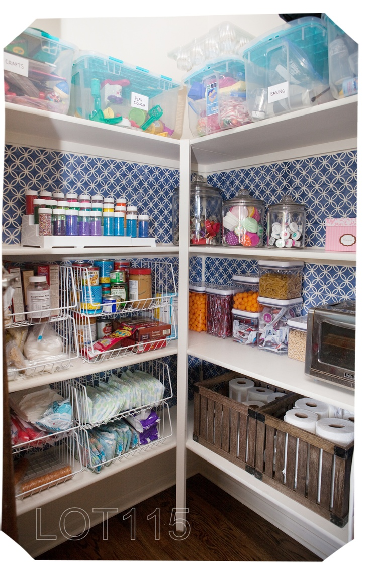 pantry organization, #pantry #makeover #DIY #stencil #paint storage ideas home decor