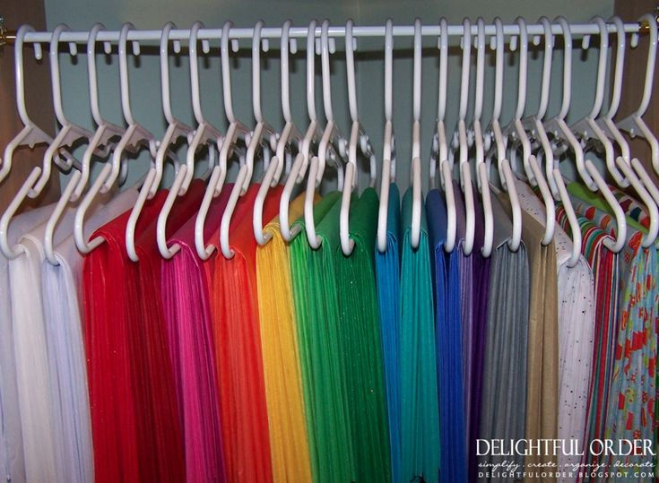 Fabric storage-perhaps hangers or clear tubs for under the bed or filing containers