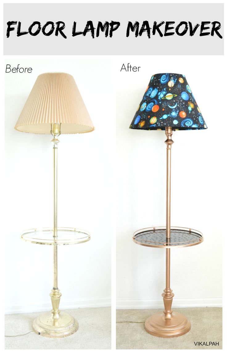 25 unique floor lamp makeover ideas on pinterest tall for Homemade floor lamp ideas