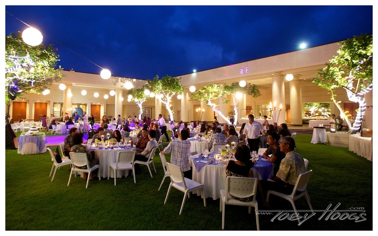 Wedding Reception At Hapuna Beach Prince Hotel