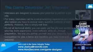 Best How To Become A Game Designer Images On