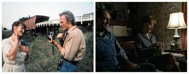 """Co się wydarzyło w Madison County"" (ang. ""The Bridges of Madison County"") 1995, reżyseria Clint Eastwood"