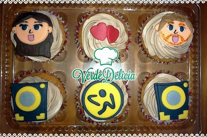 Cupcakes personalizados: sabor berries y nutella