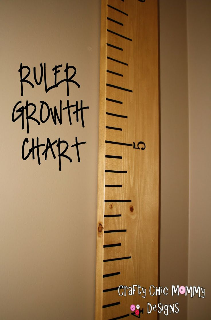 316 best kids room decor images on pinterest child room play a giant ruler growth chart for kids room decor nvjuhfo Gallery