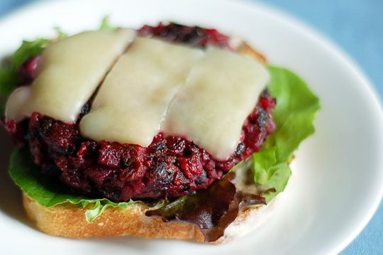 Will try. Looks interesting and healthier than beef. Had one like this at Eureka Burger in Redlands, CA and it was wonderful (called Loma Linda Burger): Red Beets, Columbus Ohio, Brown Rice, Black Beans, Veggies Burgers, Northstar Cafe, Burgers Recipes, Veggie Burgers, Beans Burgers