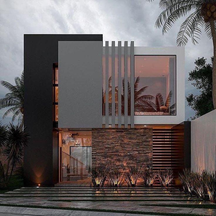Modern House Exterior Modern House Exterior Modern House Exterior Single Story In 2020 Dream House Exterior Modern Minimalist House Minimalist House Design