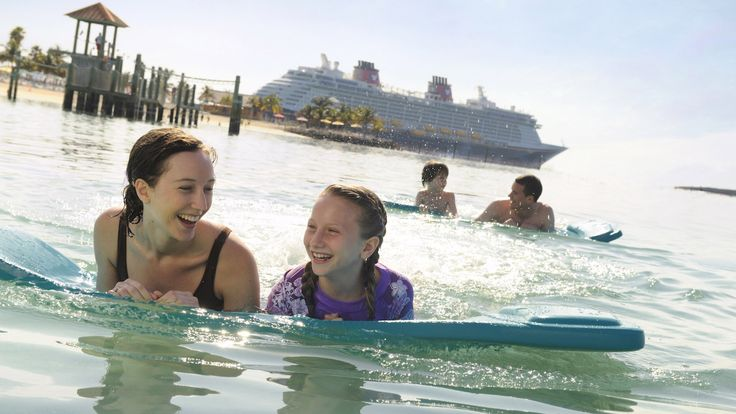 Disney Cruise Lines's private island, Castaway Cay is awarded Top Private Island!  www.roadtorelaxationtravel.com