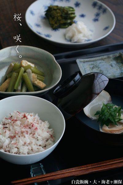 【一汁一菜】お味噌汁中心の食事:蛤のお吸い物