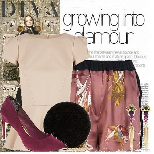 Growing Into Glamour | Women's Outfit | ASOS Fashion Finder