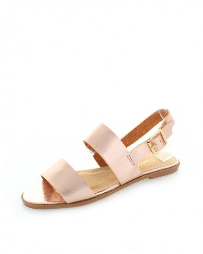 Zlato-růžové sandály Varies