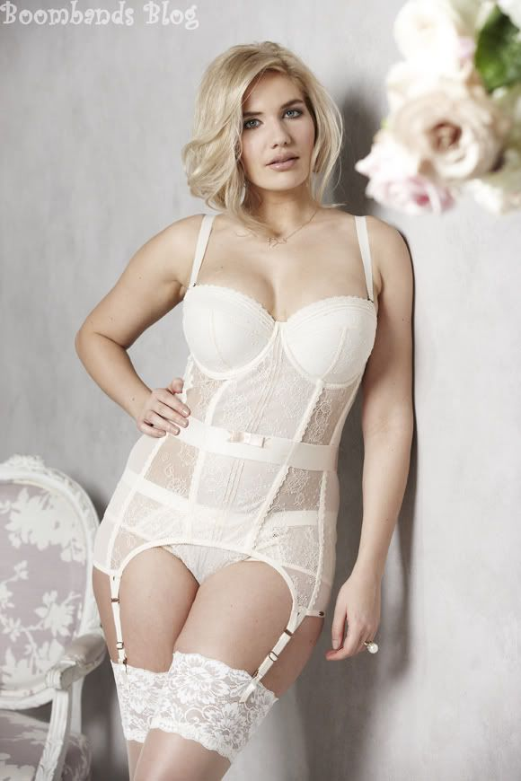 Plus Size Wedding Lingerie from the new Bridal Collection at Simply Be. For gorgeous, plus size brides and their curves.