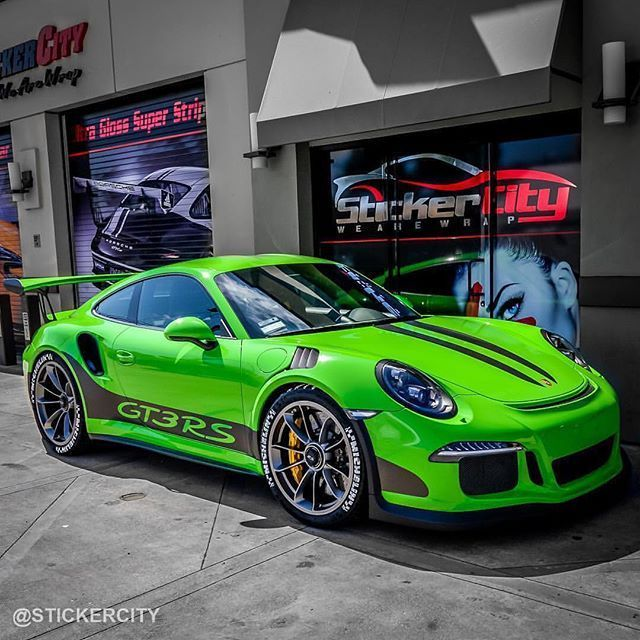 Something to beautify your day! What do you think of this GT3RS sticker Ci – Auto Design Ideen
