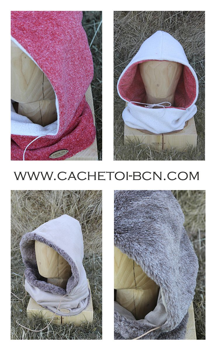 the perfect Christmas gift #fashion#hooded #scarf #barcelona @林 高鸿.toi www.cachetoi-bcn.com