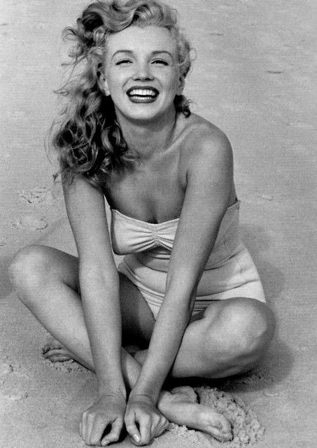 My body inspiration! Even Marilyn had some rolls and she was still gorgeous.