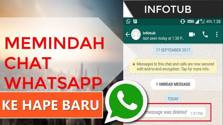 Cara Memindah Chat Whatsapp Ke Hp Yang Baru Dengan Mudah