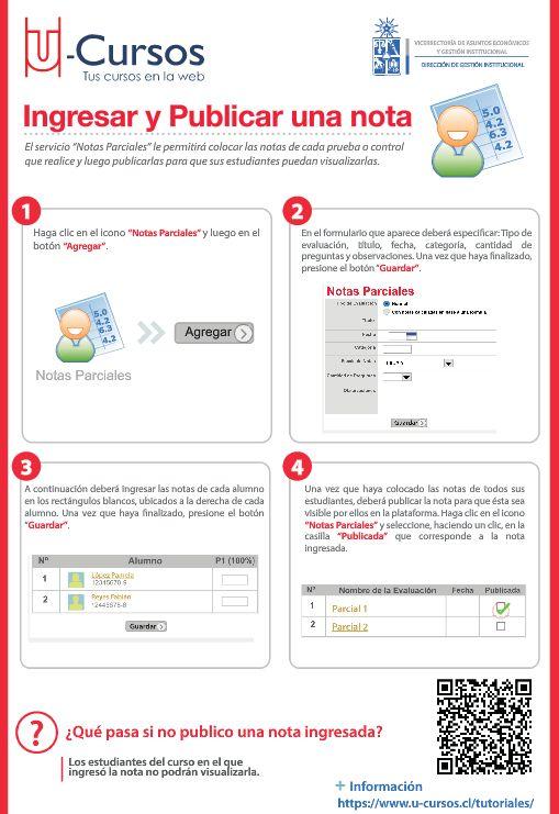 Ingresar y Publicar una nota.Para ver la versión web visite http://www.dgi.uchile.cl/docs/fb/guias/u_cursos_ingresar_publicar_nota/
