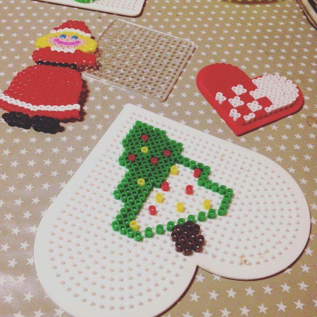 Christmas tree hama beads by christina_moen
