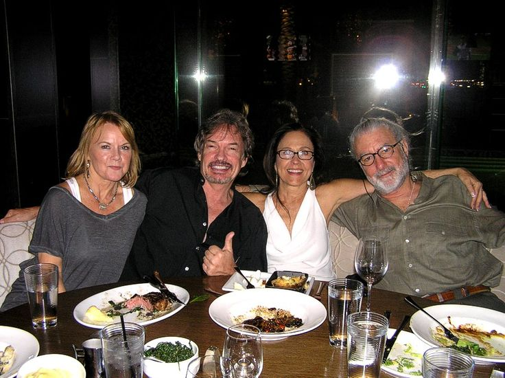 Becky & Gary Graham, Erin Gray & Richard Hissong — with ...