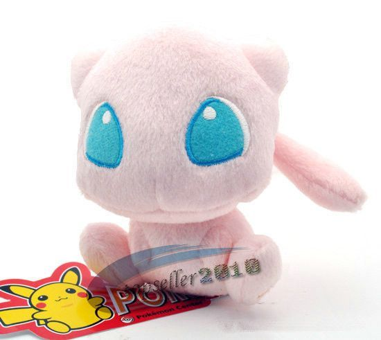 "J.G Chen Free Shipping Japanese Anime Pokemon Mew Plush Toy 5"" Pocket Monster Soft Stuffed Animals Plush Doll Gift"