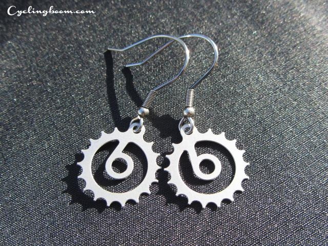 Cb Earrings   Cycling boom products   Bicycle Inspired Earrings $2