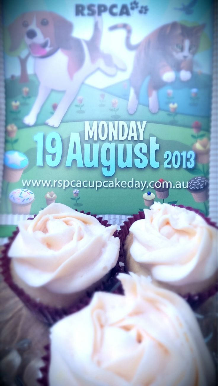 A cupcake by any other name would taste as sweet: http://www.rspcacupcakeday.com.au/