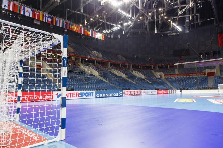 Profesjonalne bramki do piłki ręcznej z certyfikatem EHF. Profesional handball goals EHF certificate of approval, EHF EURO 2015