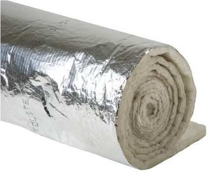 Duct Insulation, 1-1/2In x 48In x 25Ft