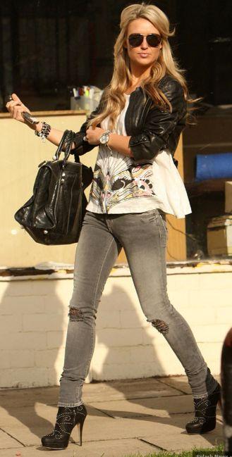 Alex Gerrard.. Adore seeing a tall woman strutting her stuff