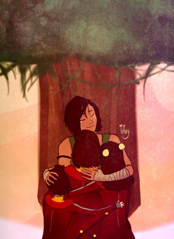 Mission Accomplished by Tuffuny on deviantART- I was sobbing by the end of the episode. Everything about it was beautiful. I'm so glad Ikki, Jinora, and Meelo found Korra! GO AIRBABIES!