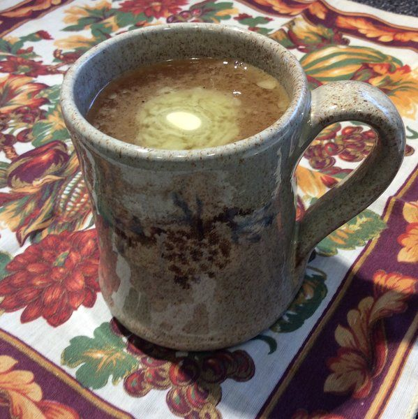 Crockpot Spiced Rum Cider