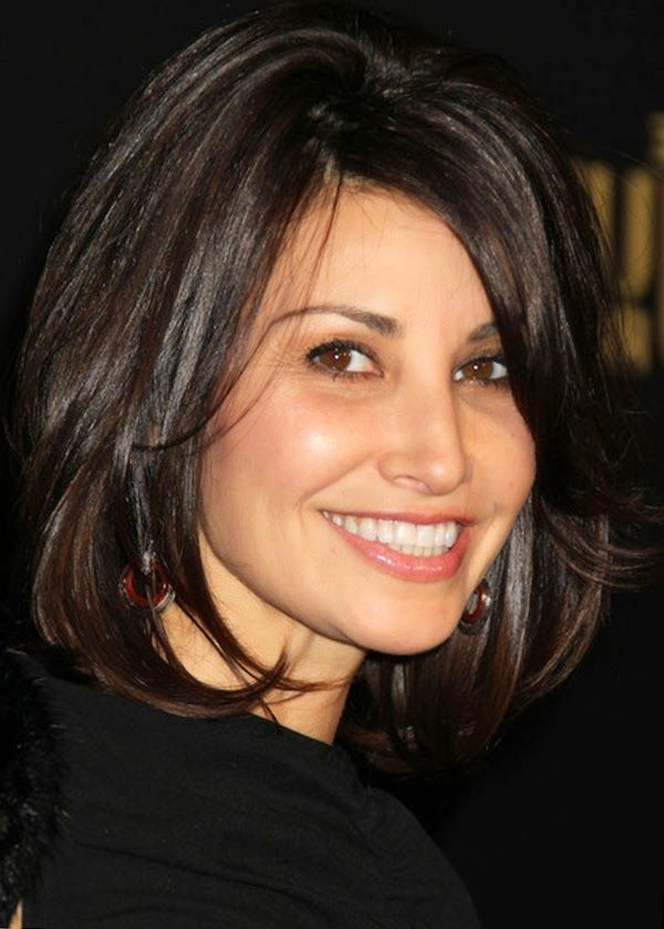 Latest Medium Layered Hairstyles Gina Gershon